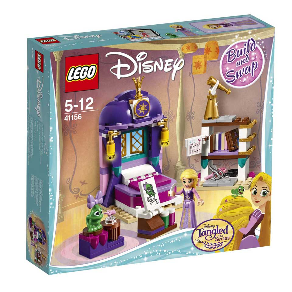 LEGO Disney Rapunzels slaapkamer 41156