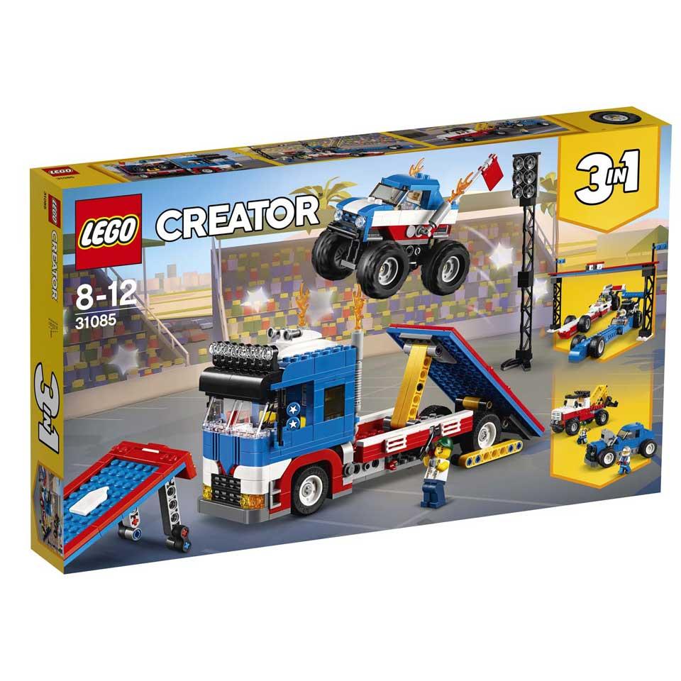 LEGO Creator mobiele stuntshow 31085