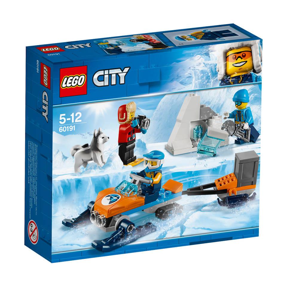LEGO City Arctic poolonderzoekersteam 60191
