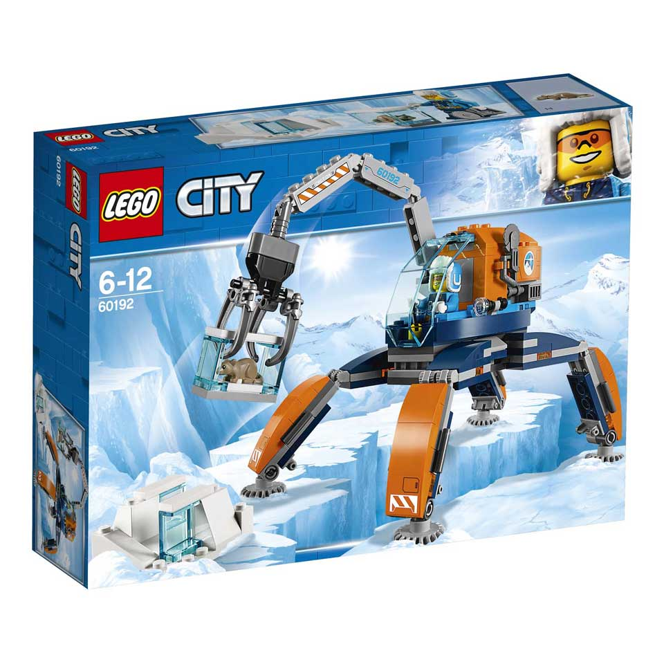 LEGO City Arctic poolijscrawler 60192