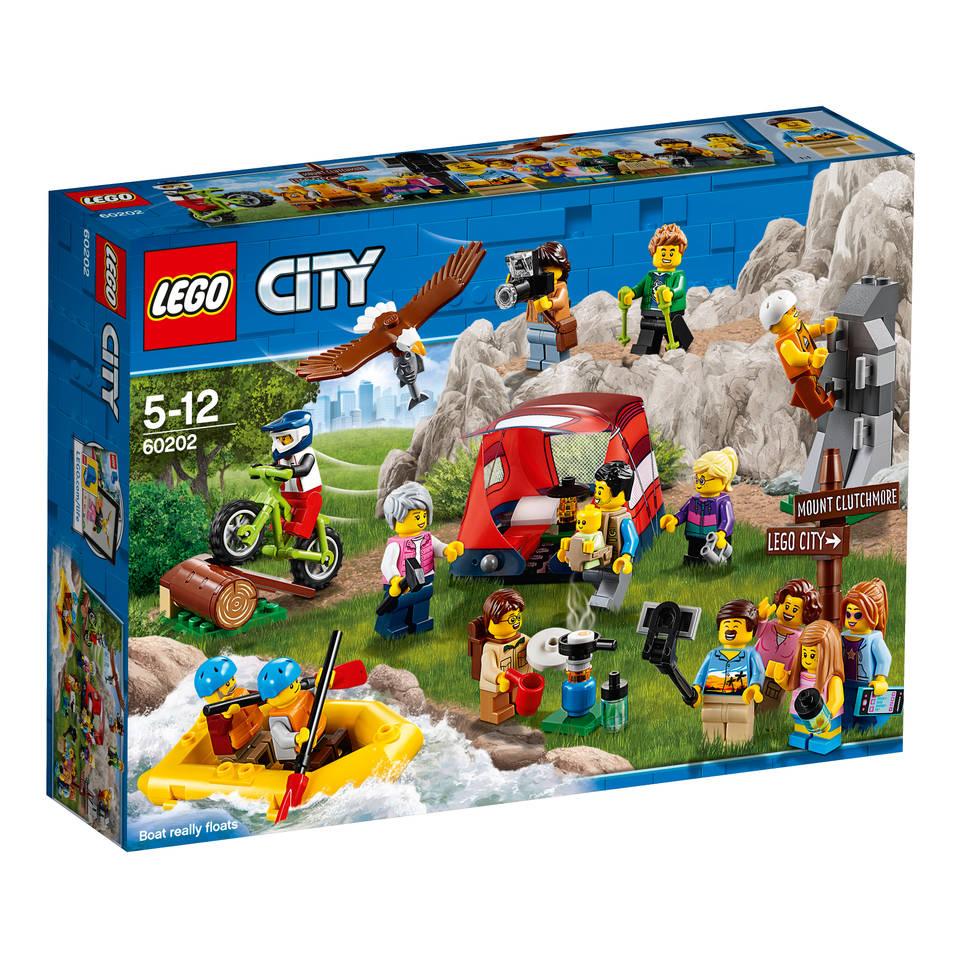 LEGO City personenpakket buitenavonturen 60202