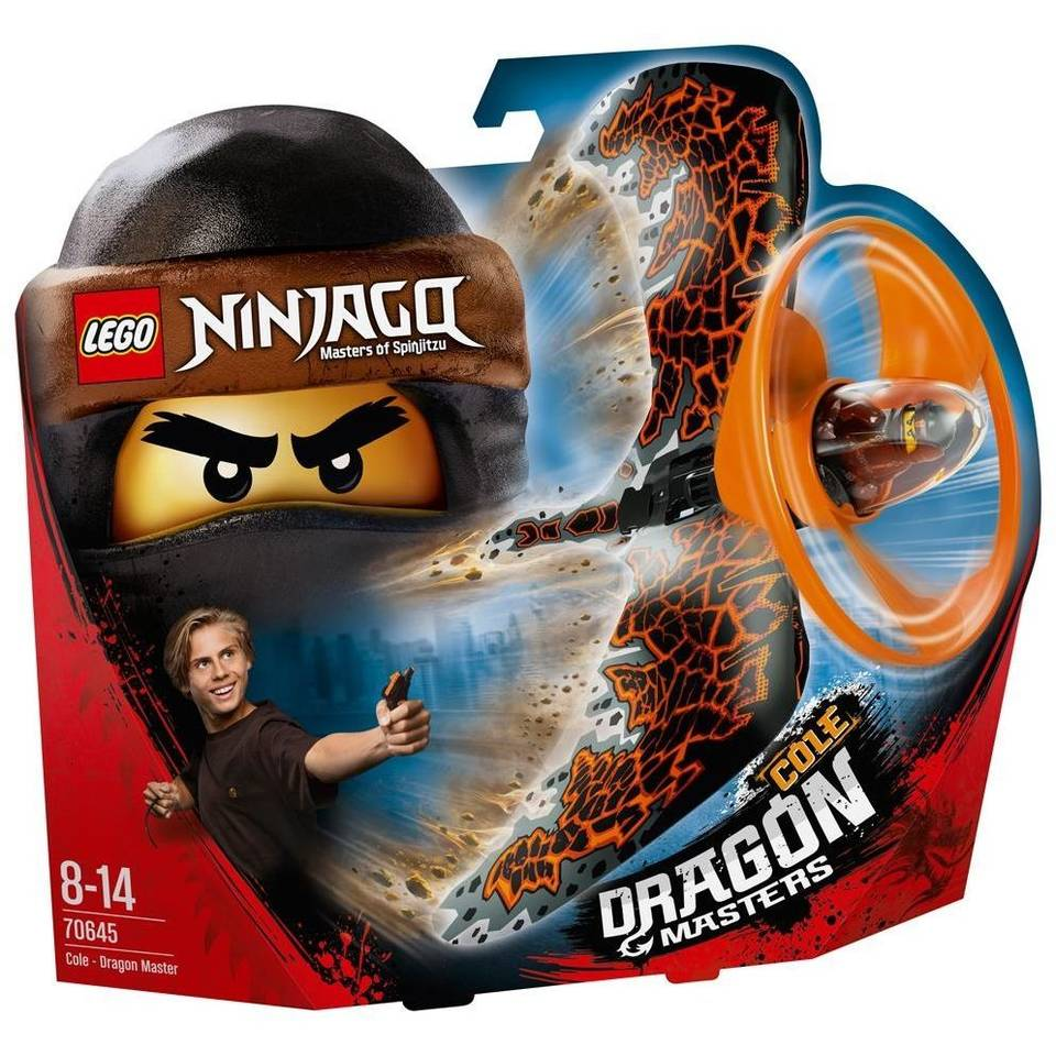 LEGO Ninjago drakenmeester Cole 70645