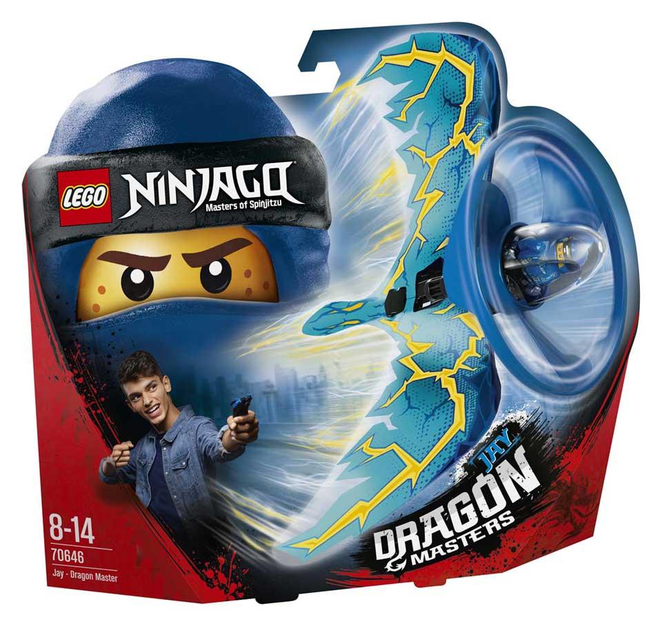 LEGO Ninjago drakenmeester Jay 70646