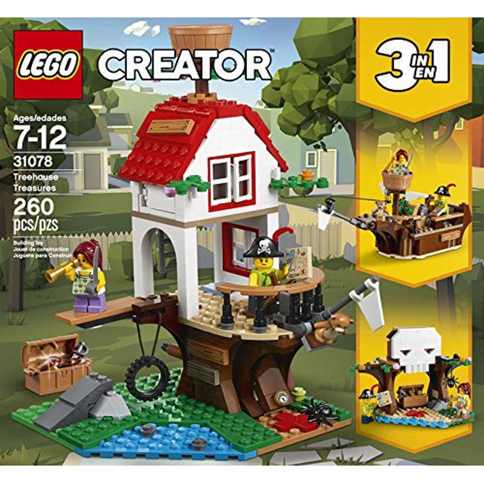LEGO Creator boomhutschatten 31078
