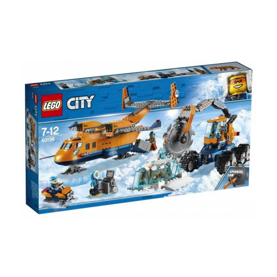 LEGO City bevoorradingsvliegtuig Noordpool 60196