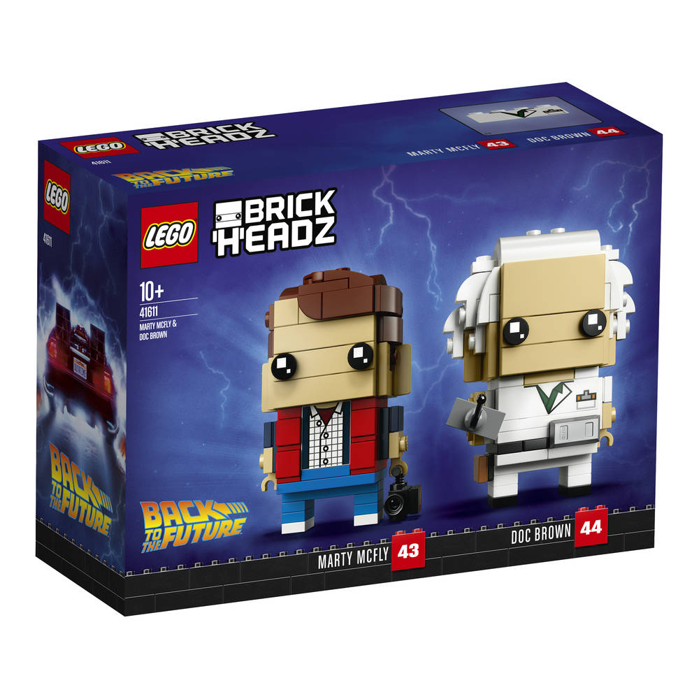 LEGO BrickHeadz Marty McFly en Doc Brown 41611