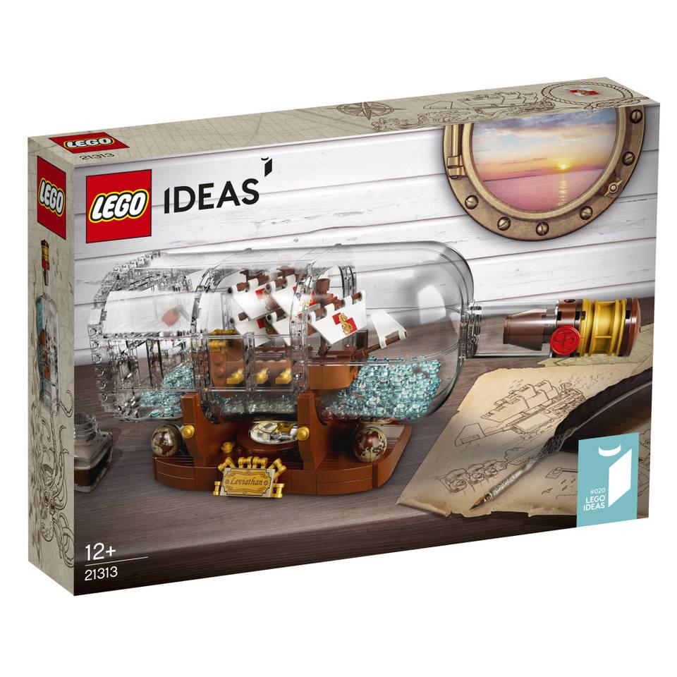 LEGO Ideas Schip in een fles 21313