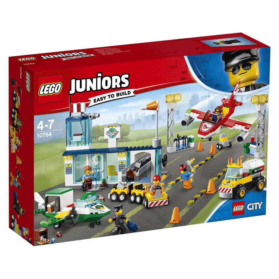 LEGO Juniors City Central luchthaven 10764