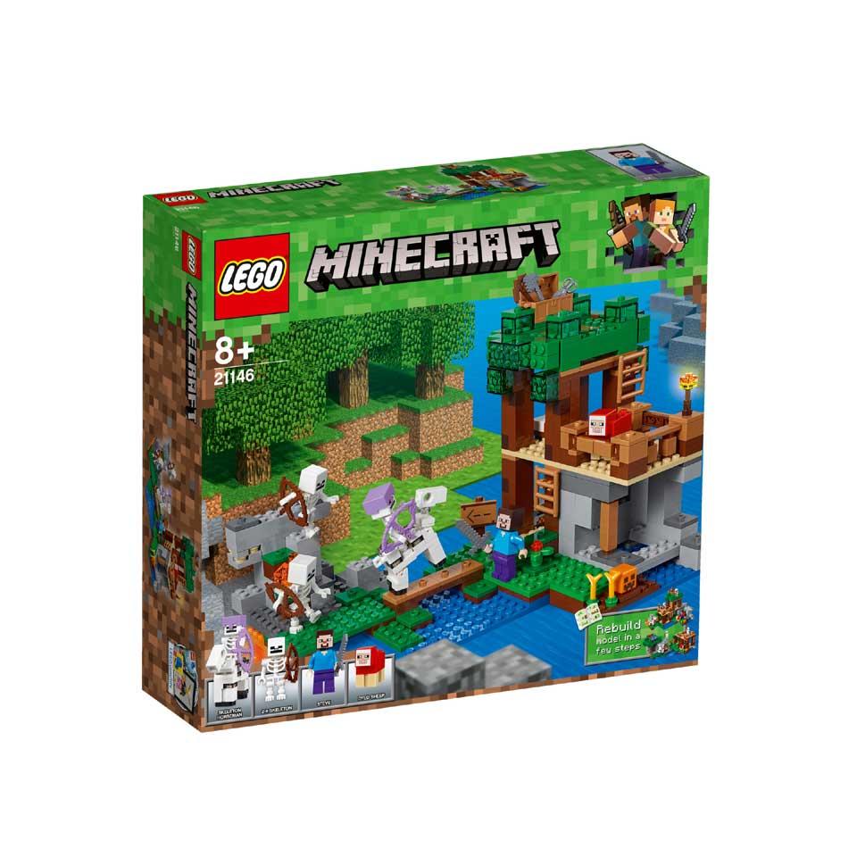 LEGO Minecraft de skeletaanval 21146