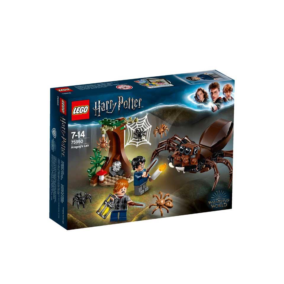 LEGO Harry Potter Aragogs schuilplaats 75950