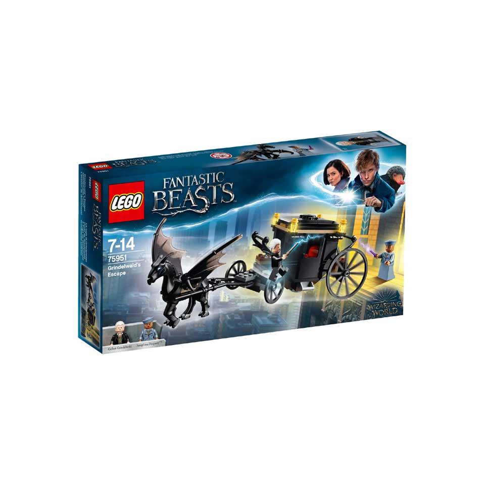 LEGO Fantastic Beasts Grindelwalds ontsnapping 75951