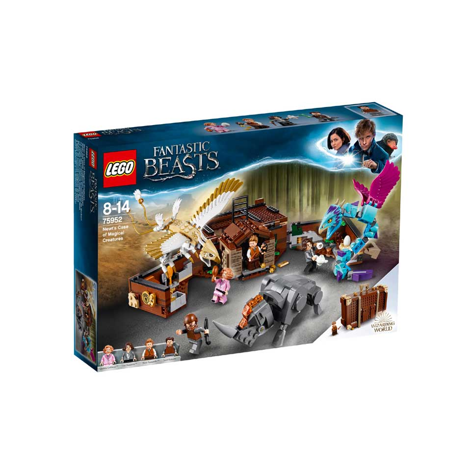 LEGO Fantastic Beasts Newts koffer met magische wezens 75952