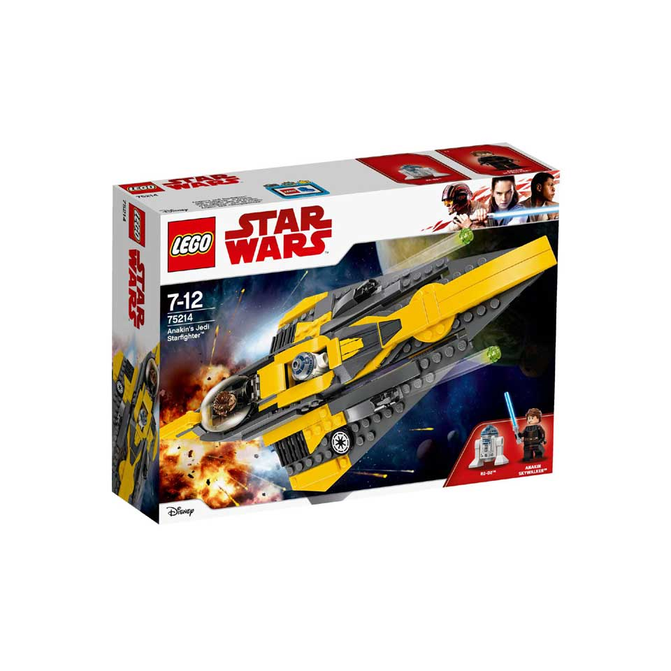 LEGO Star Wars Anakins Jedi Starfighter 75214