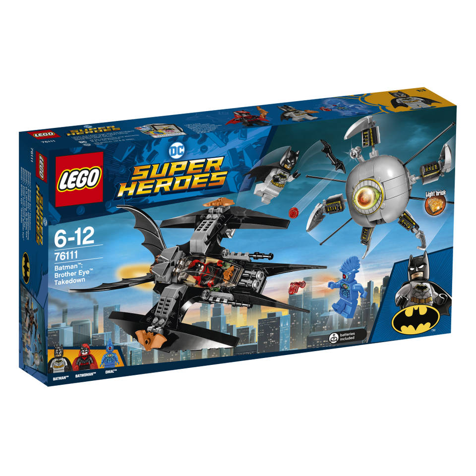 LEGO DC Super Heroes Batman verslaat Brother Eye 76111