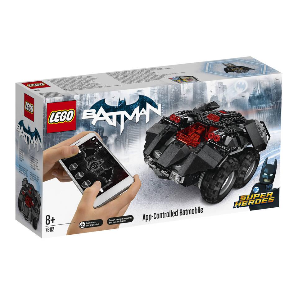 LEGO DC Comics Super Heroes Batmobiel met app-bedieding 76112