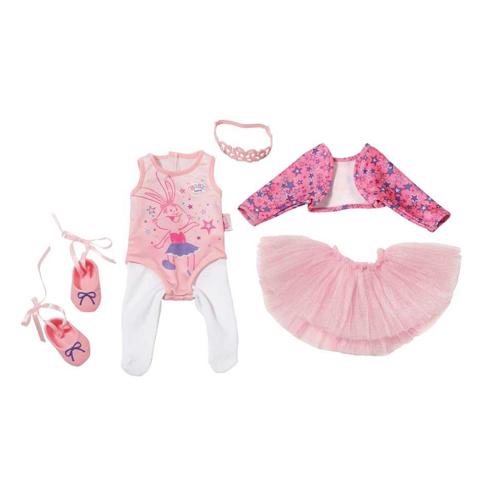 BABY born boutique deluxe ballerina kledingset