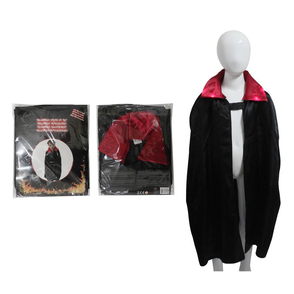 Dracula verkleedcape met lichtjes