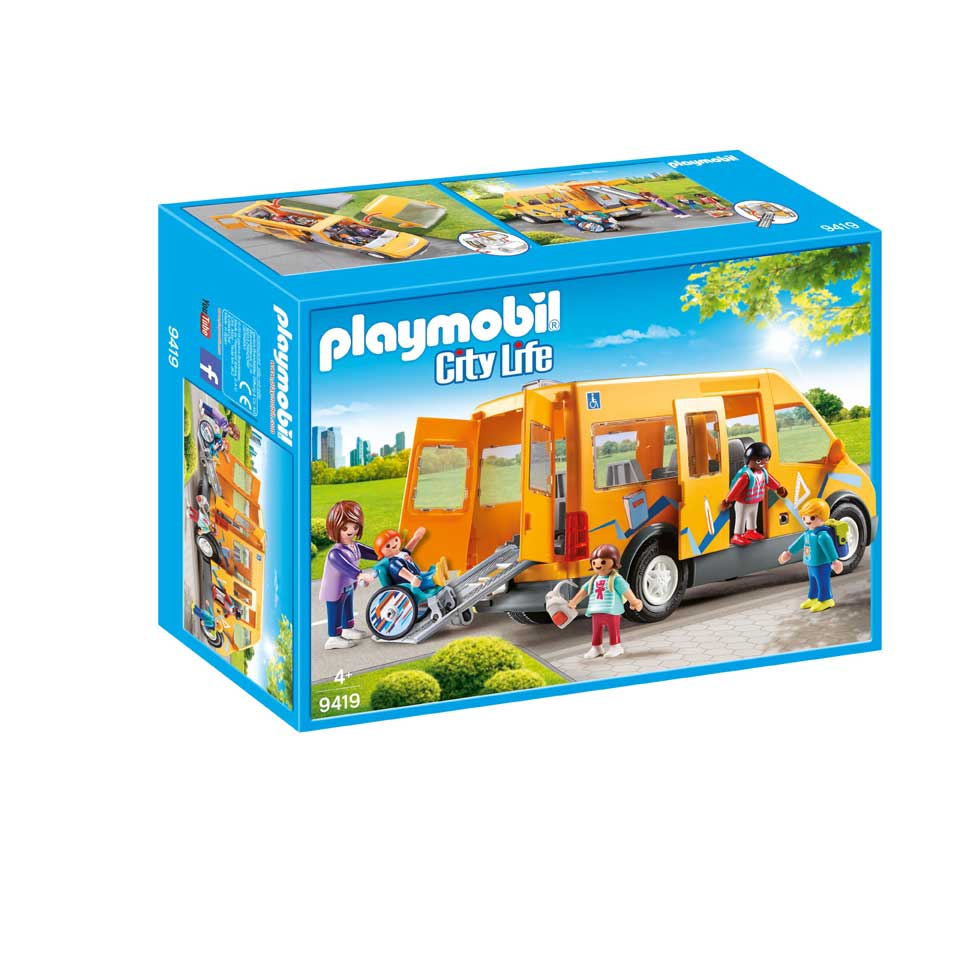 PLAYMOBIL City Life schoolbus 9419