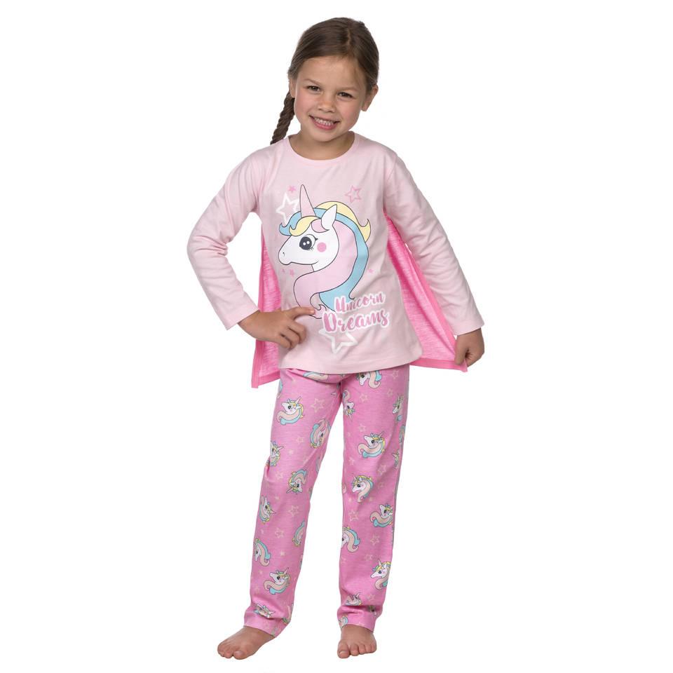 Eenhoorn pyjama - maat 98/104