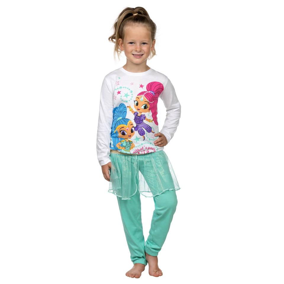 Shimmer en Shine pyjama - maat 122/128