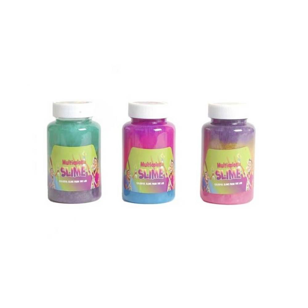 Professor Slime potje met multikleur slijm - 250 gram