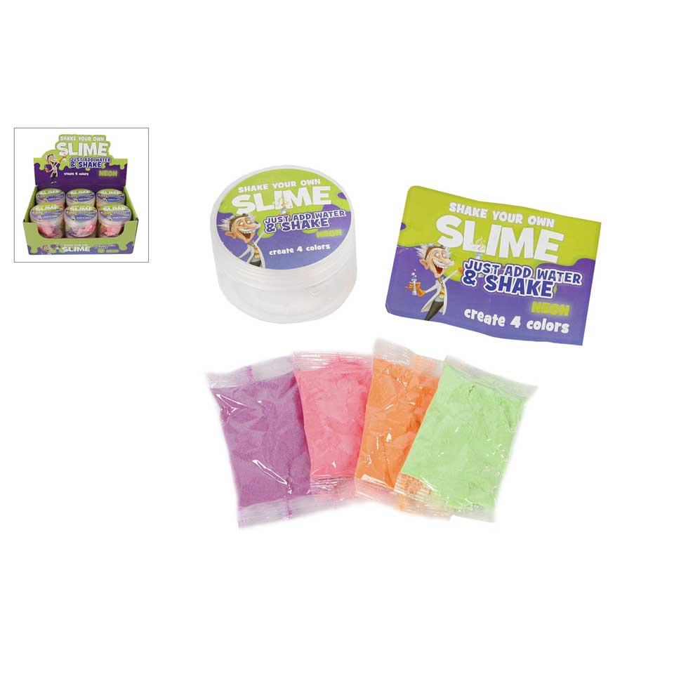 Professor Slime Shake & Make slijm maken