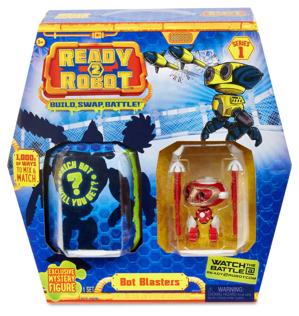 Ready2Robot Bot Blaster style 2 accessoirepakket