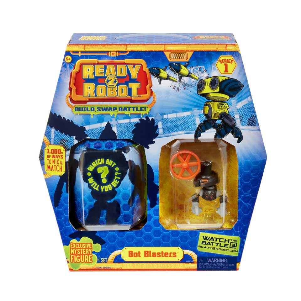 Ready2Robot Bot Blaster style 3 accessoirepakket
