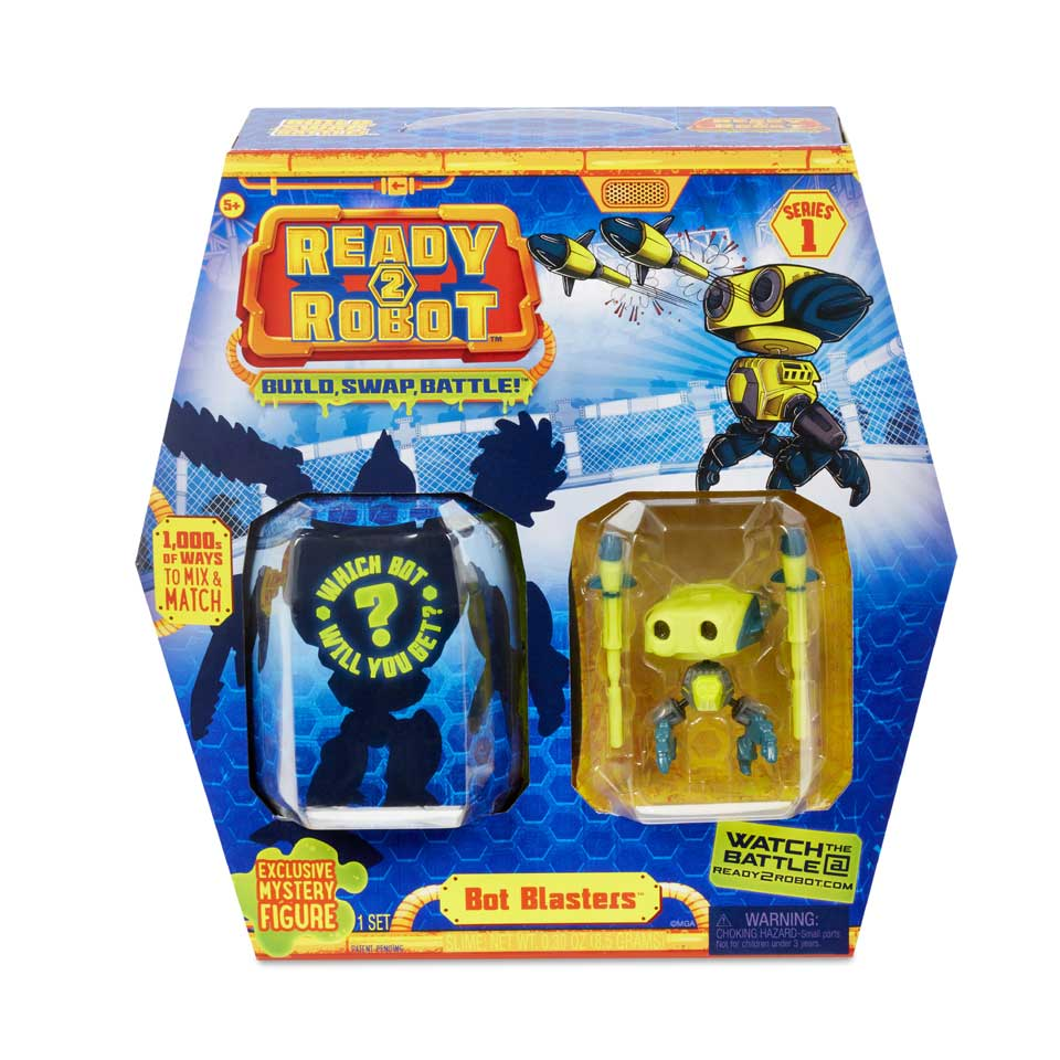 Ready2Robot Bot Blaster style 4 accessoirepakket