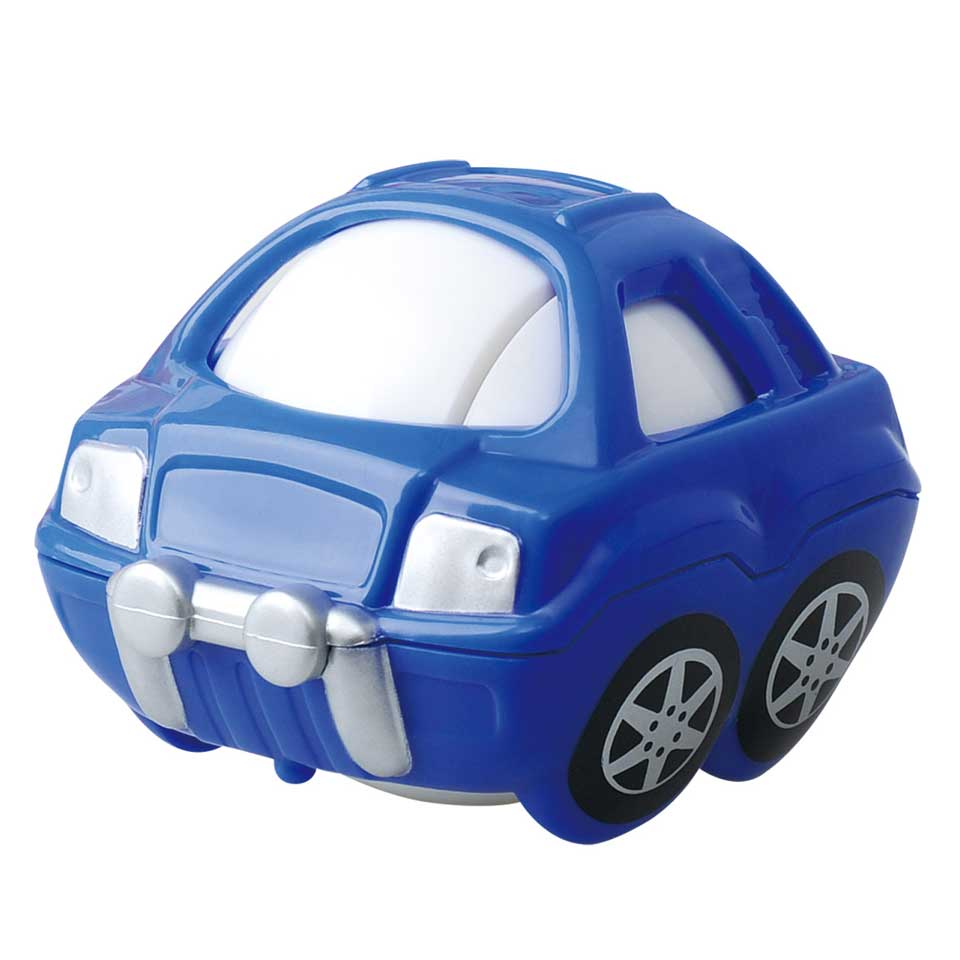 Playgo Little Hero rollende auto - blauw
