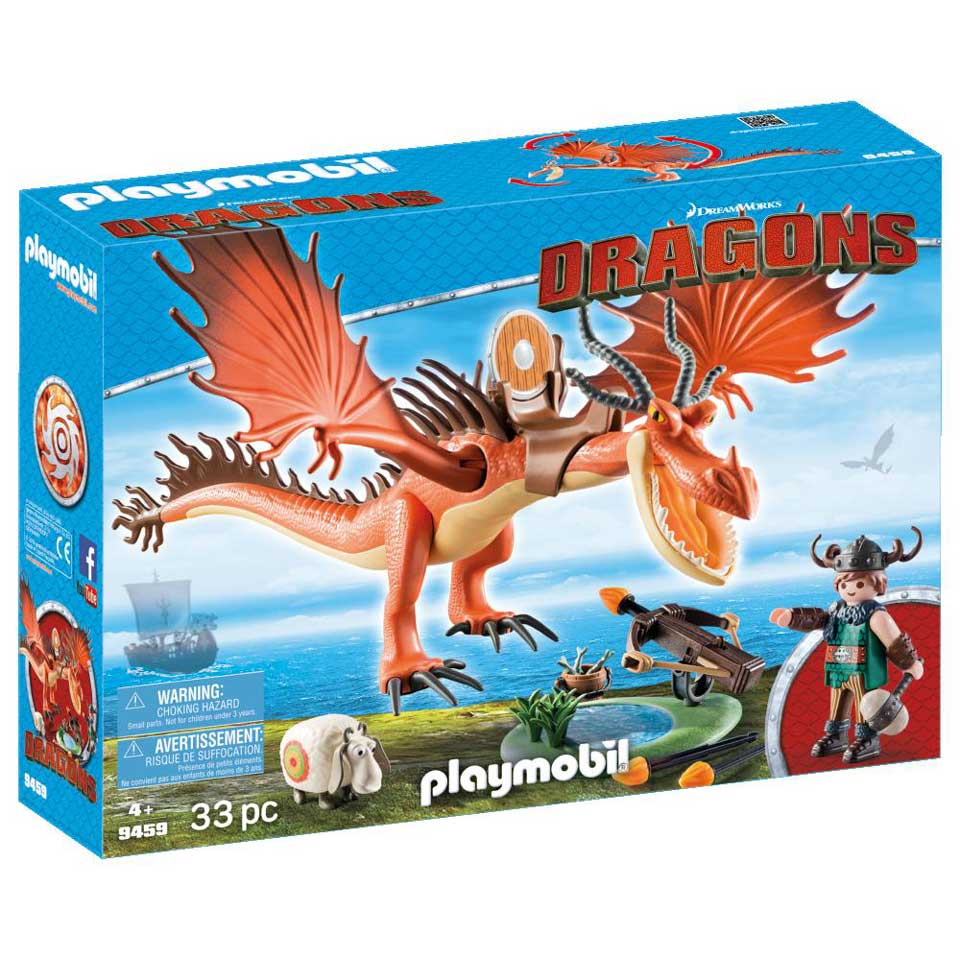 PLAYMOBIL Dragons Snotkrot & Haaktand 9459