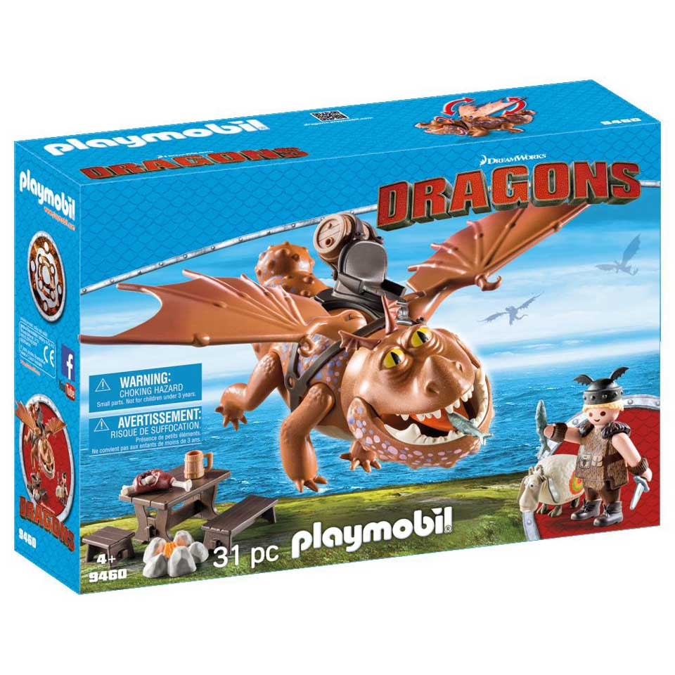 PLAYMOBIL Dragons Viztik en Vleeskop 9460