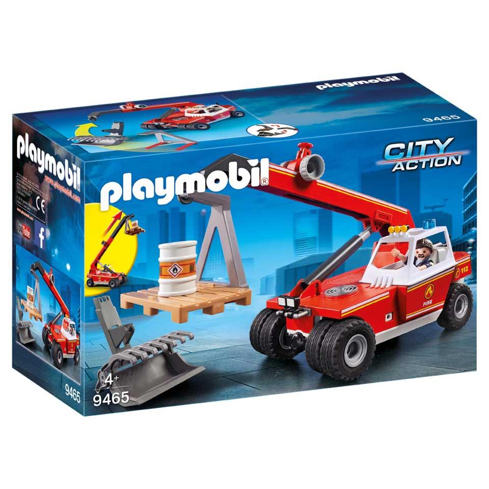 PLAYMOBIL City Action brandweer hoogtewerker 6495