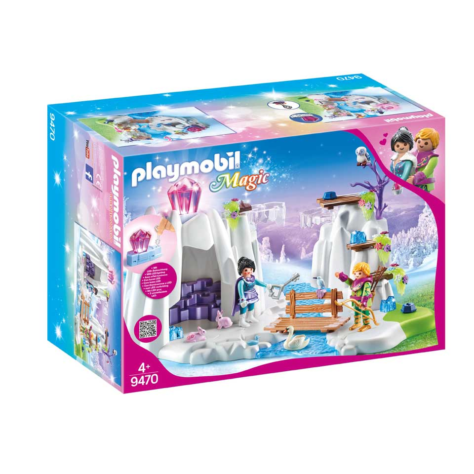 PLAYMOBIL Magic speelset kristallen diamantengrot 9470
