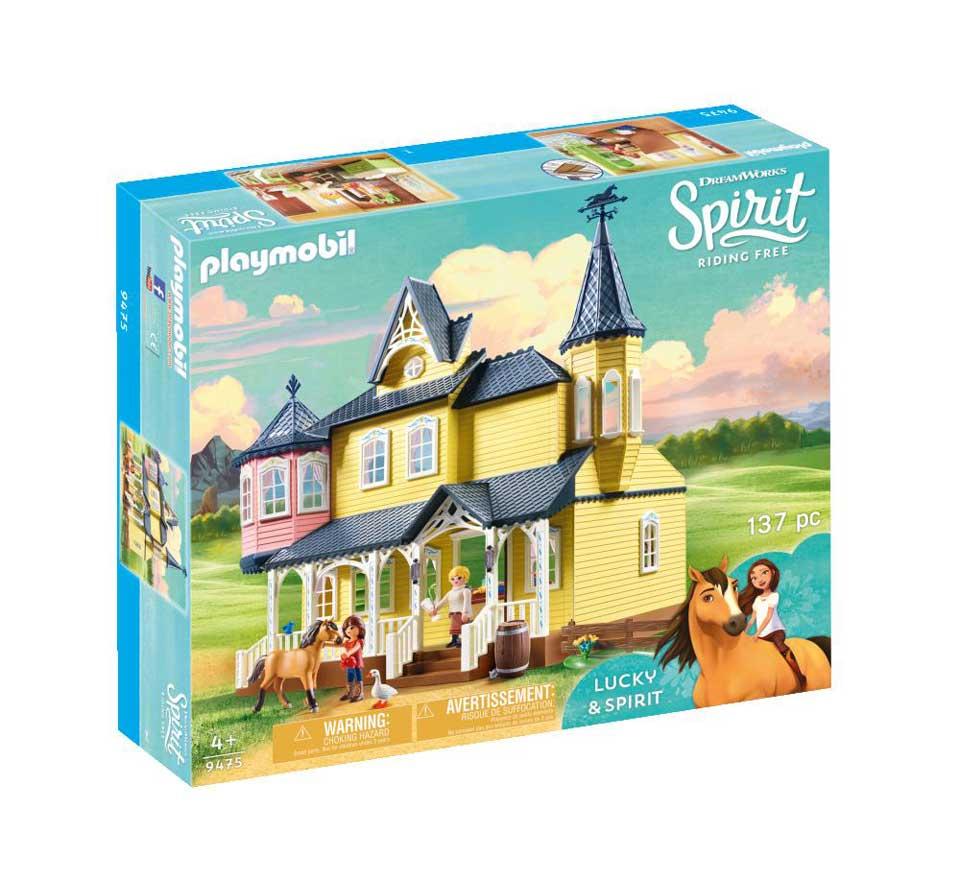 PLAYMOBIL Spirit speelset Lucky's huis 9475