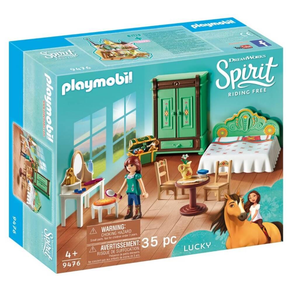PLAYMOBIL Spirit speelset Lucky's slaapkamer 9476