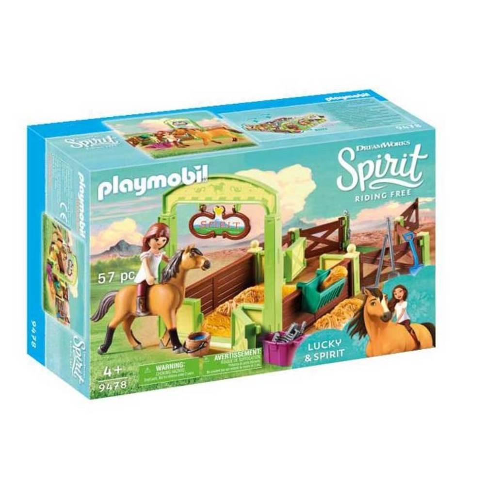 PLAYMOBIL Spirit speelset Lucky & Spirit 9478