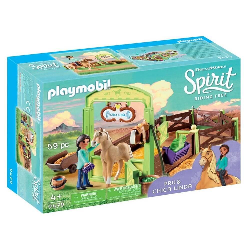 PLAYMOBIL Spirit speelset Pru & Chica 9479