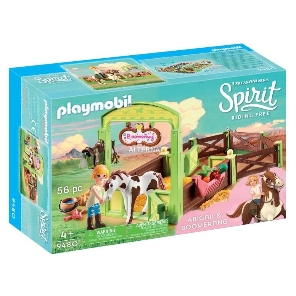 PLAYMOBIL Spirit speelset Abigail & Boomerang 9480
