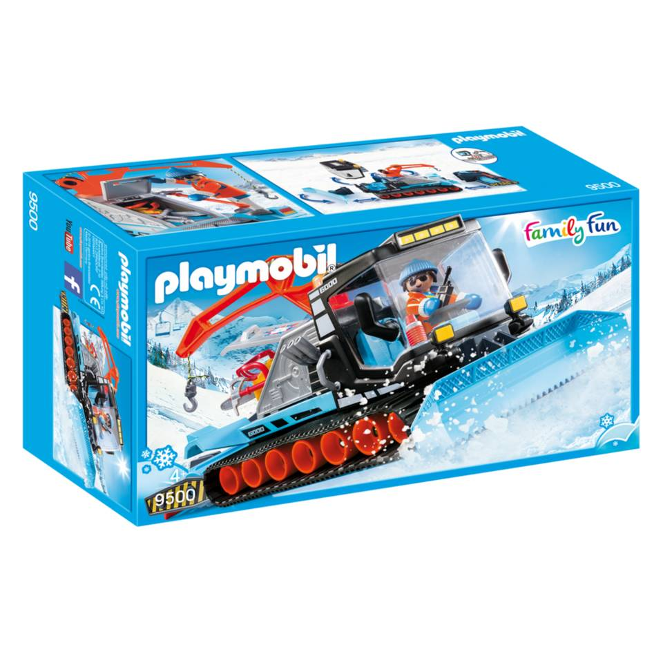 PLAYMOBIL Family Fun sneeuwruimer 9500