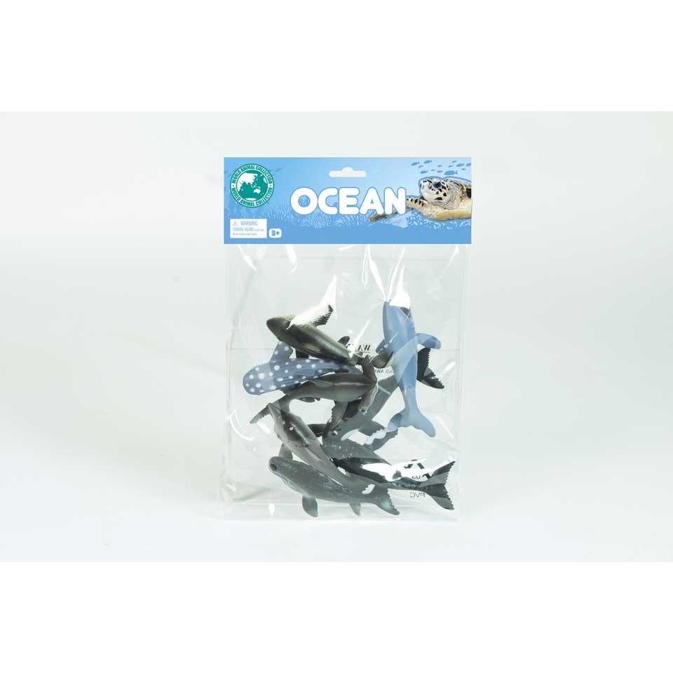 Oceaandieren set van 8
