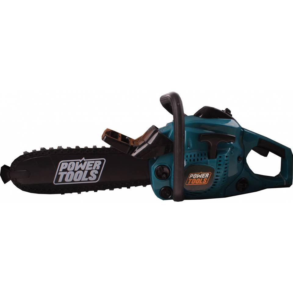 Toi-Toys Power Tools kettingzaag - groen/zwart