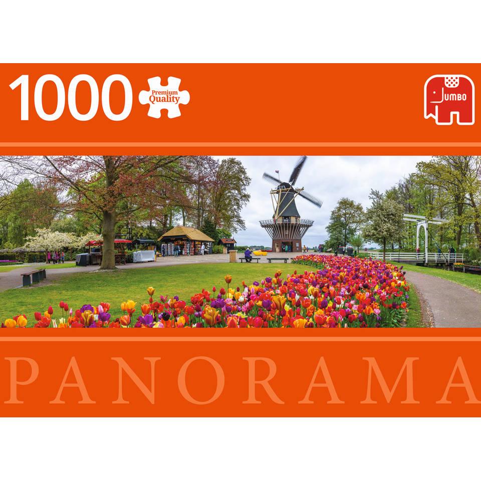 Jumbo Premium Collection puzzel De Keukenhof - 1000 stukjes