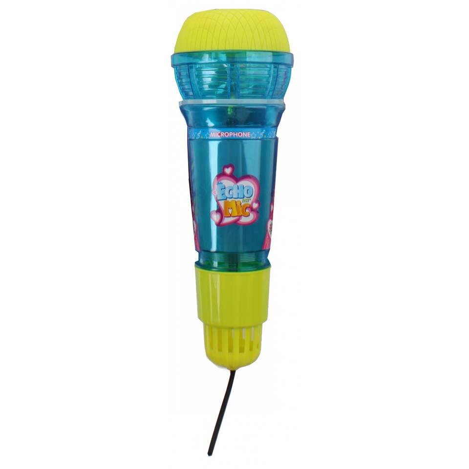 Toi-Toys Echo microfoon met licht blauw 24 cm