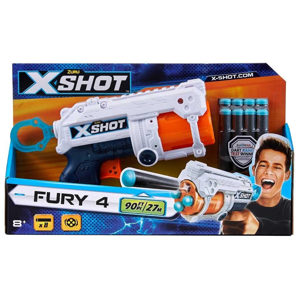 Zuru X-Shot Excel blaster Fury 4