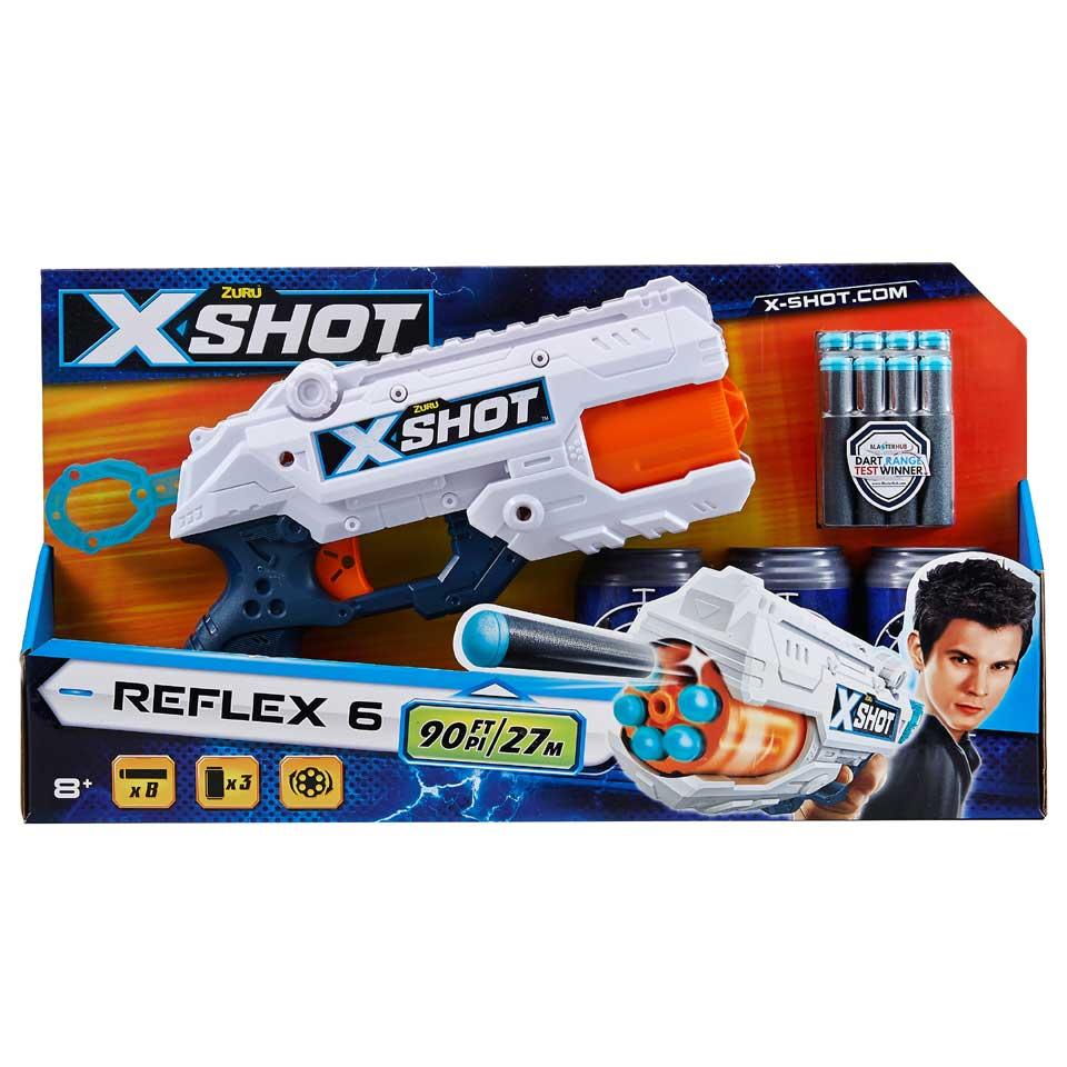Zuru X-Shot Excel blaster Reflex 6