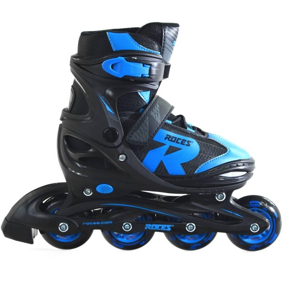 Roces inline skates Jokey 2.0 jongens - maat 30-33 - zwart/blauw