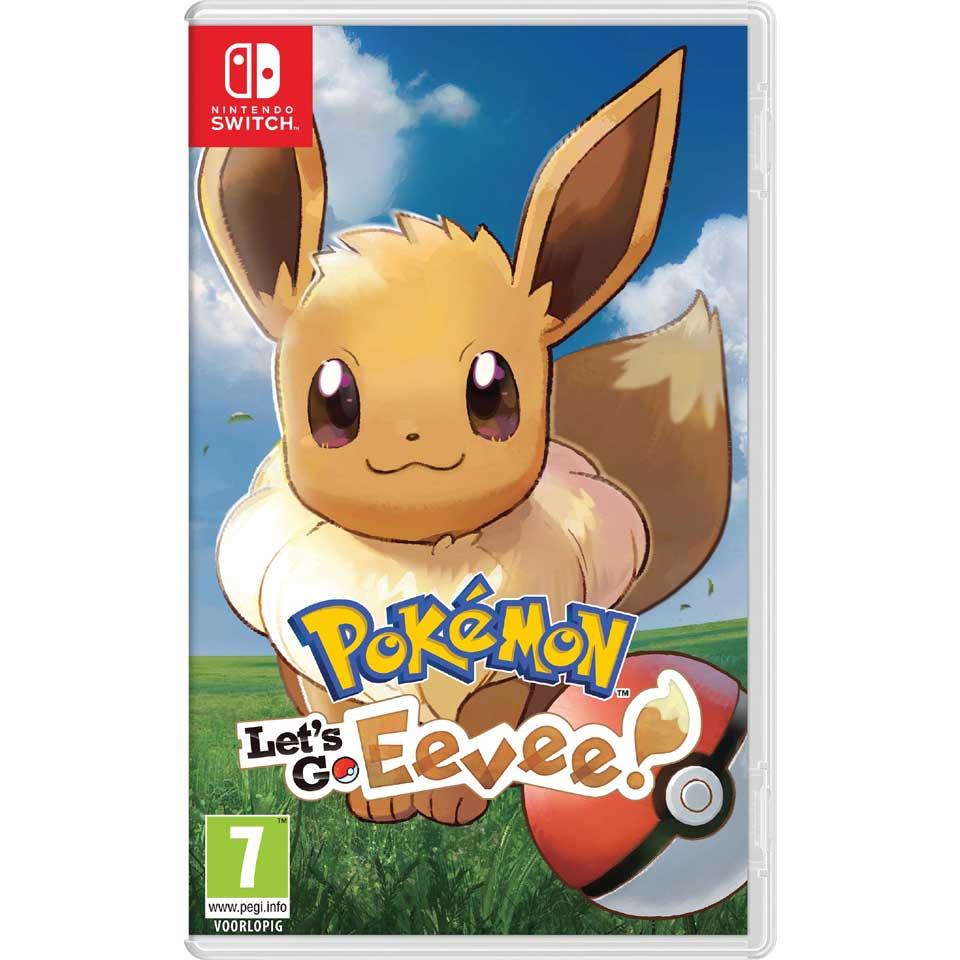 Nintendo Switch Pokémon Let's Go Eevee