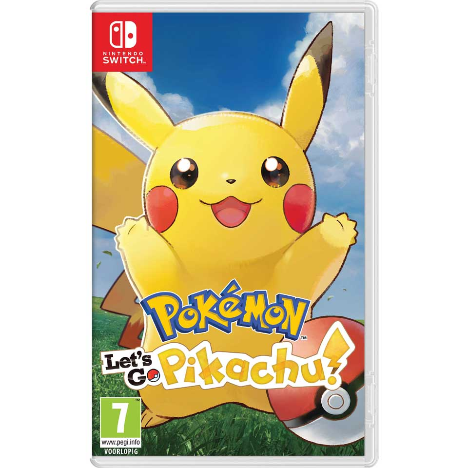 Nintendo Switch Pokémon Let's Go Pikachu