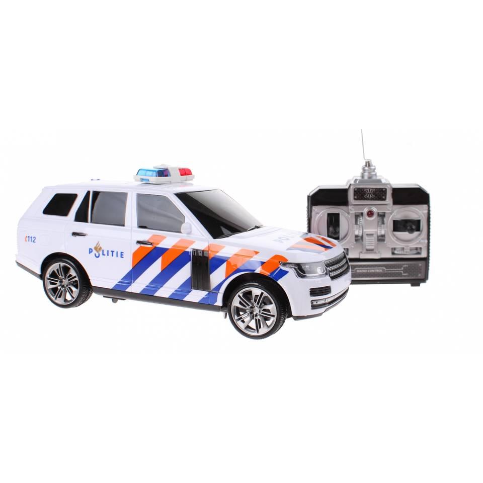 Toi-Toys op afstand bestuurbare politieauto Nederlands - 24 cm